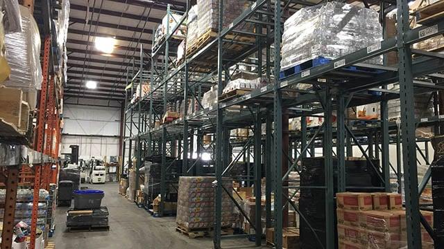 Empty shelves amid Harvest Hope Food Bank shortage (Source: Harvest Hope)