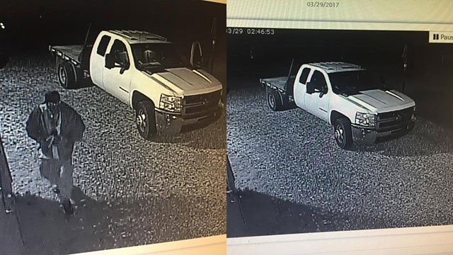 Suspect's vehicle (Source: Greenville Co. Sheriff's Office Facebook)