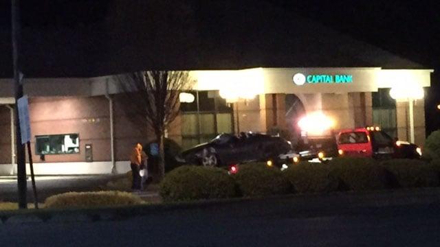 Scene of Boiling Springs crash. (FOX Carolina/ 3/29/17)