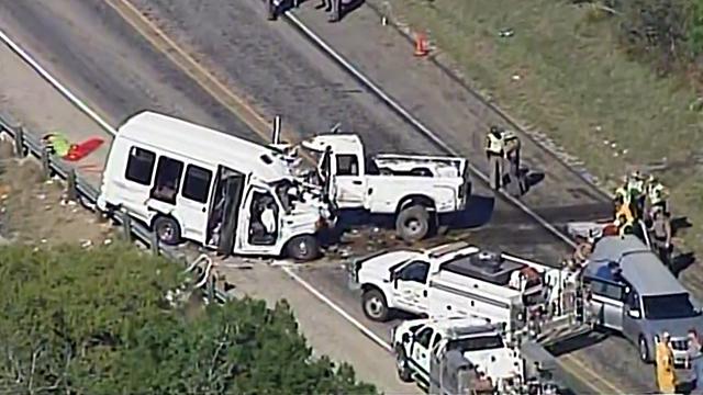 Texas church bus crash (Source: CNN)