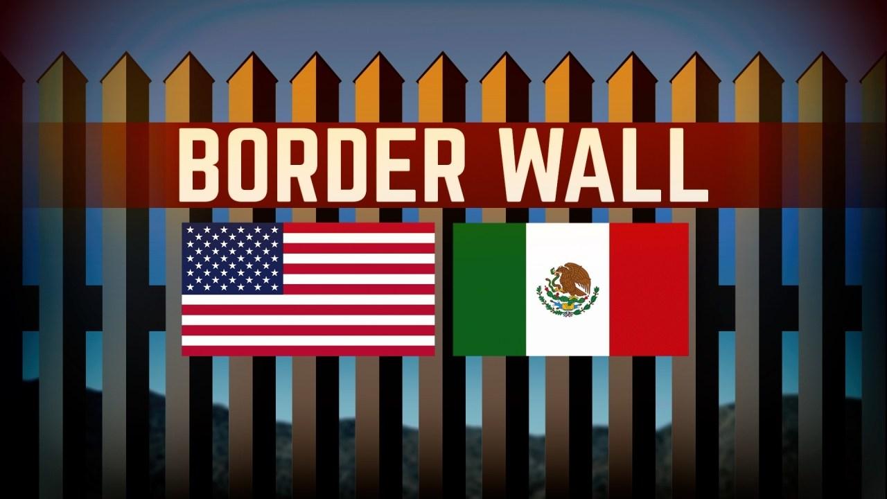 Border wall (Source: Associated Press)