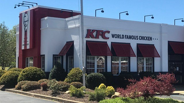 KFC in Spartanburg (April 1, 2017 FOX Carolina)