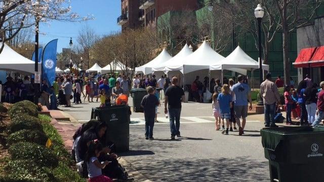 Imagine Upstate festival. (April 1, 2017 FOX Carolina)
