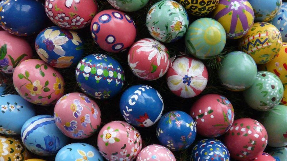 Easter eggs (Wikimedia Commons)