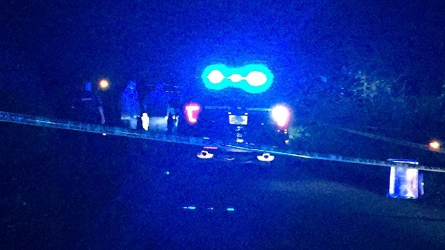 Scene of officer-involved shooting in Anderson Co. (April 3, 2017 FOX Carolina)