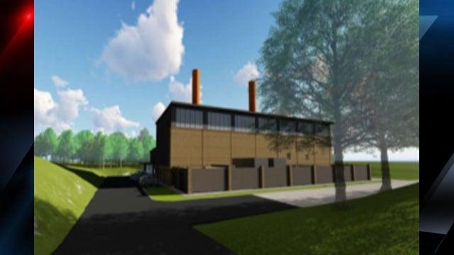 Artist rendering of the new power plant (Courtesy: Duke Energy)