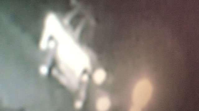 Suspect's vehicle. Deputies said cameras on the victim's property caught this SUV on Mar. 21 (Source: McDowell Co. Sheriff's Office)