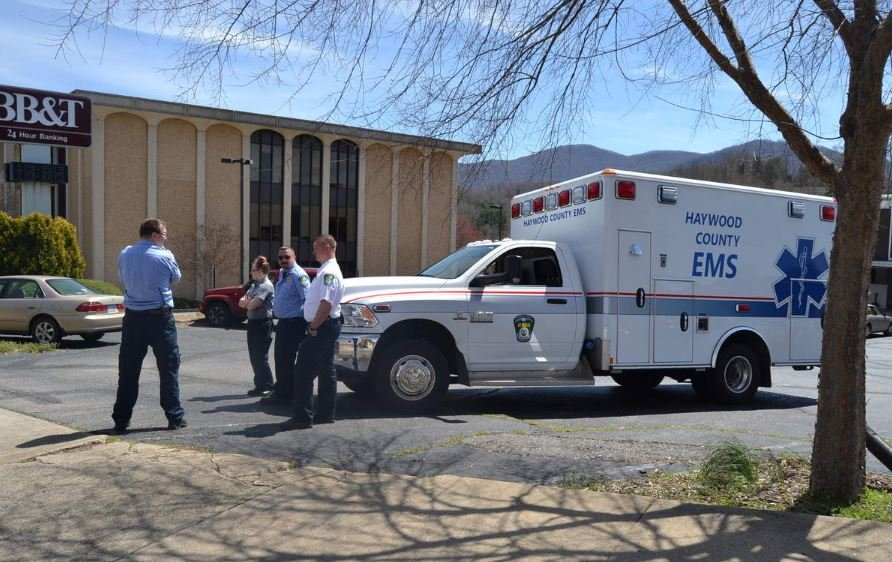 Waynesville standoff situation (Source: The Mountaineer)