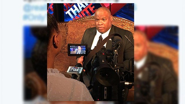 FOX Carolina interviews Pastor Mark Burns about auto breaking incident. (April 4, 2017 FOX Carolina)