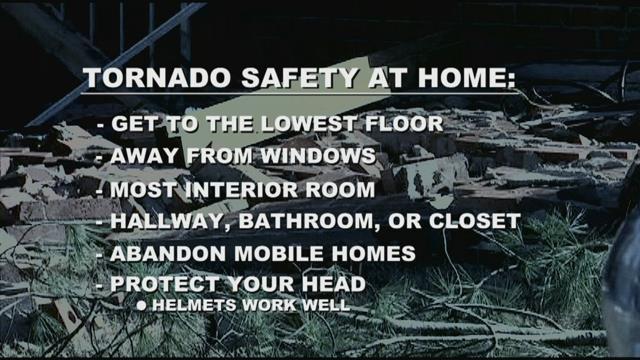 Tornado safety (file/FOX Carolina)
