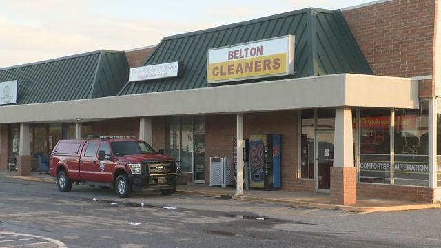 Belton firefighters on scene (FOX Carolina/ April 6, 2017)