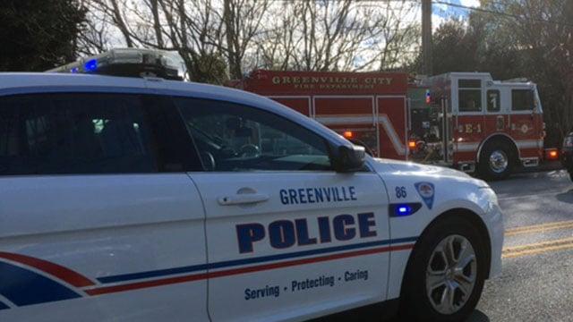 Firefighters, police at Sterling Pelham (Apr. 6, 2017/FOX Carolina)