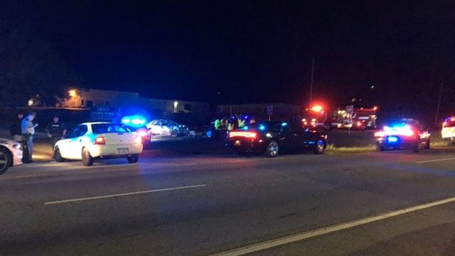 Fatal crash on Calhoun Memorial Highway (Apr. 7, 2017/FOX Carolina)