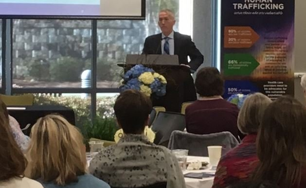 US Rep. Trey Gowdy speaks at human trafficking symposium (FOX Carolina/ April 7, 2017)