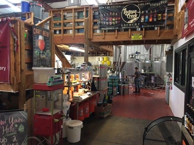 Thomas Creek Brewery (Apr. 7, 2017/FOX Carolina)