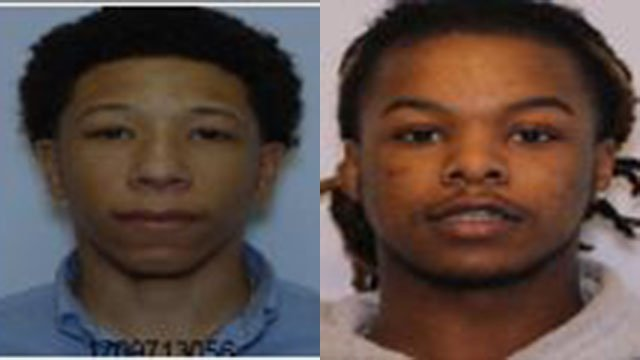 DeAdrian De'Paul Garcia (left) and Jyquez Julius Freeman (right) were both charged with murder of Anthony Tiffany. (Source: Spartanburg PD)