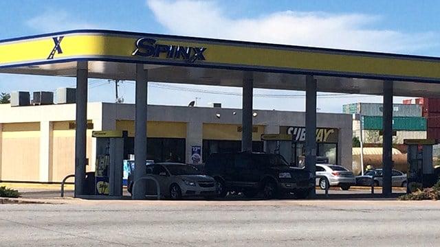 Spinx on White Horse Road. (April 8, 2017 FOX Carolina)