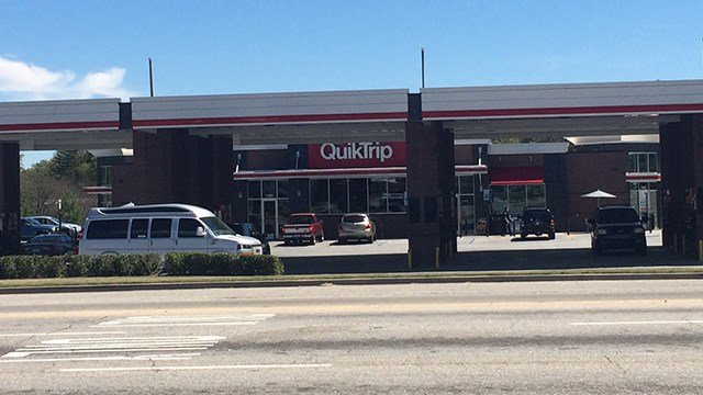 QT on White Horse Road. (April 8, 2017 FOX Carolina)