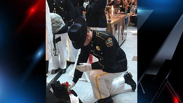Missing man ceremony (Source: VAMC)
