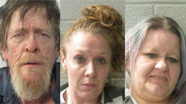 Bobby Wise, Monica Buckner and Deanne Bautista (Source: Henderson Co. Sheriff's Office)