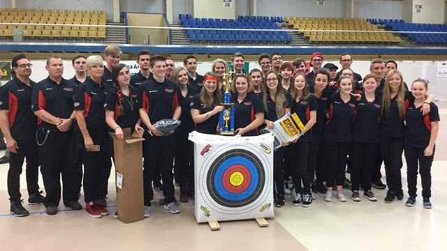 Greenville's Hurricanes Archery Team. (Source: Hurricanes)