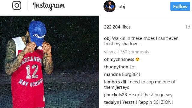 Odell Beckham Jr (Courtesy: Beckham/ Instagram)