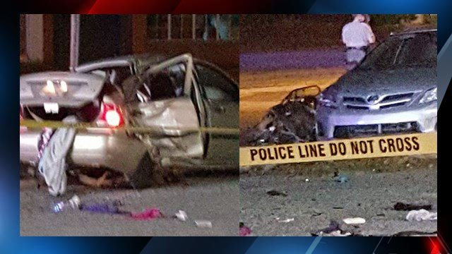 Vehicles involved in collision. (Source: Eyewitness)