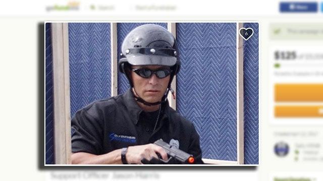 Officer Jason Harris (Source: GoFundMe)