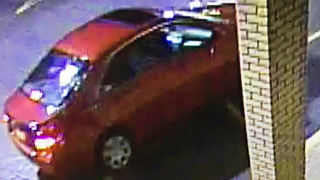 Deputies said suspect had an accomplice in this vehicle (Source: Greenwood Co. Sheriff's Office)