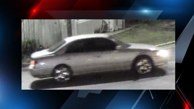 Suspect vehicle in Rodeway Inn robbery (Source: GPD)
