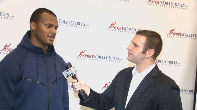 One-on-one with Deshaun Watson (Apr. 12, 2017/FOX Carolina)