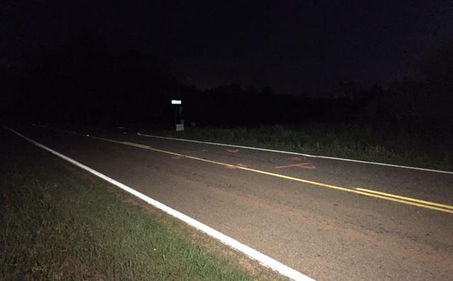 Area of Welpine Rd. where crash occurred (FOX Carolina/ April 14, 2017)