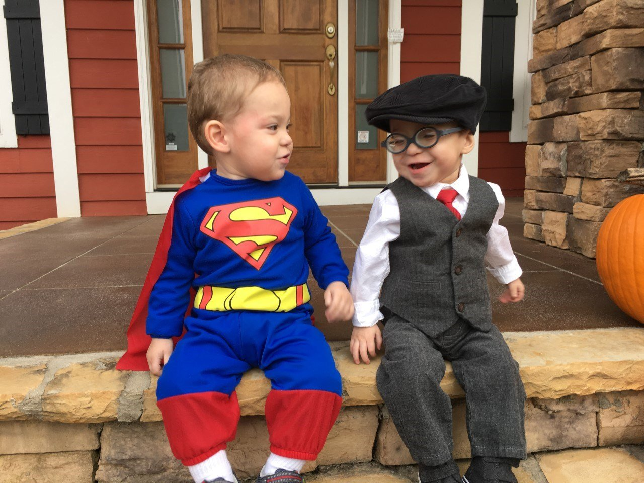 Mateo and Marcos Rodriguez on Halloween in 2016 (Courtesy: Cathy Rodriguez).
