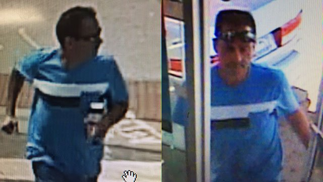Suspect in Greenville auto break-in (Source: Greenville Police)
