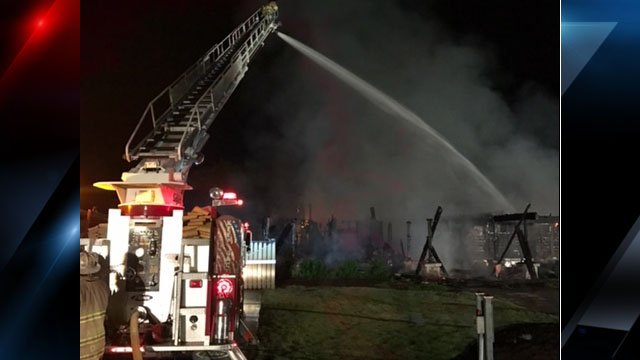 Courtesy: Keowee Vineyards Fire Dept.