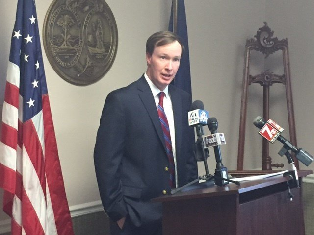 Walt Wilkins holds press conference (Apr. 18, 2017/FOX Carolina)