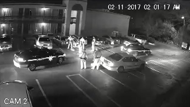 Surveillance video from deadly shooting (Source: GCSO)