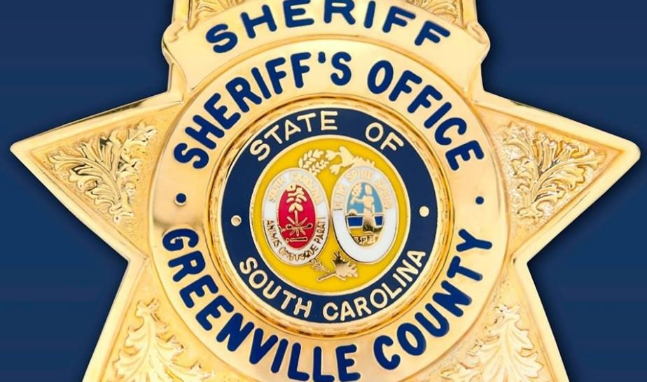 Greenville County Sheriff's Badge (Courtesy: GCSO)