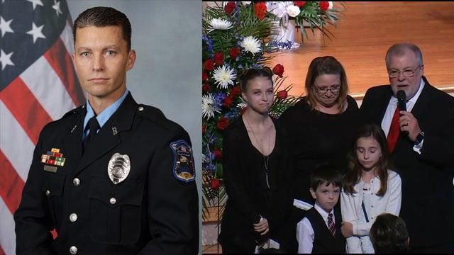 MPO Jason Harris and family (Apr. 19, 2017/FOX Carolina)