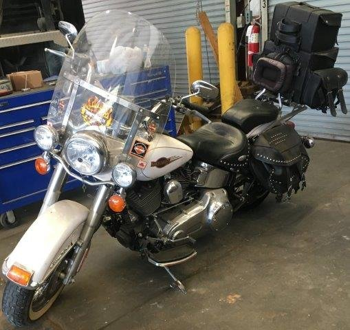 Motorcycle up for auction (Courtesy: OCSO)
