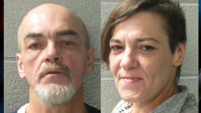 Edward Luther Russell (left) and Hillary Nicole Hudson (Courtesy: HCSO)
