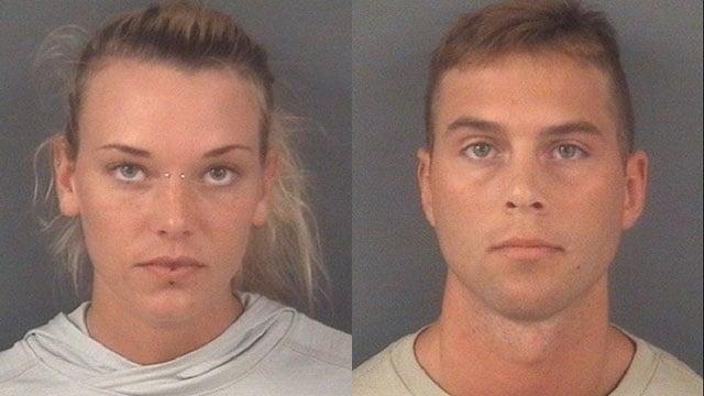 Marinna Rollins (L) and Jarren Heng (Source: Fayetteville Observer)