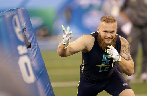 Former Clemson University linebacker Ben Boulware. (Source: AP)