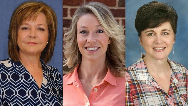 Left to right: Pam Flynn, Erin Fox and Marcia Womble (Source: SC Dept. of Education)