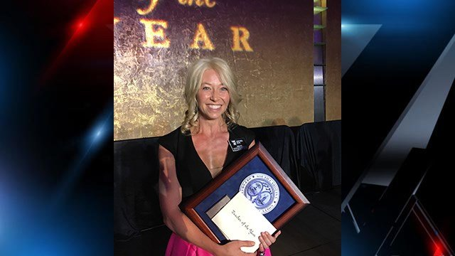 Gaffney High School English teacher Erin Fox named South Carolina Teacher of the Year. (FOX Carolina/ 5/3/17)