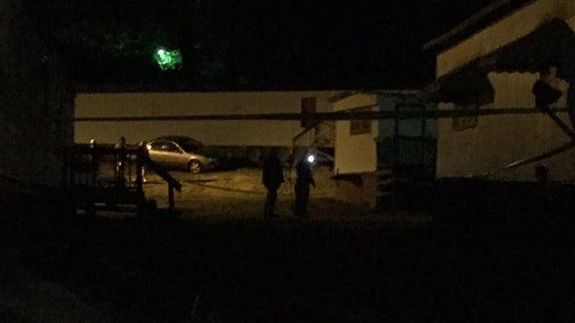 Scene of Greenville death investigation. (FOX Carolina/5/5/17)