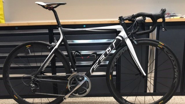 Men's Felt bicycle valued at $20,000. (Source: GPD)