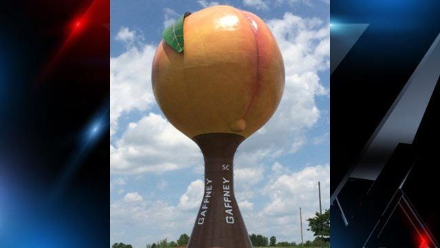 "Gaffney ""Peachoid"" (Source: Wikipedia)"