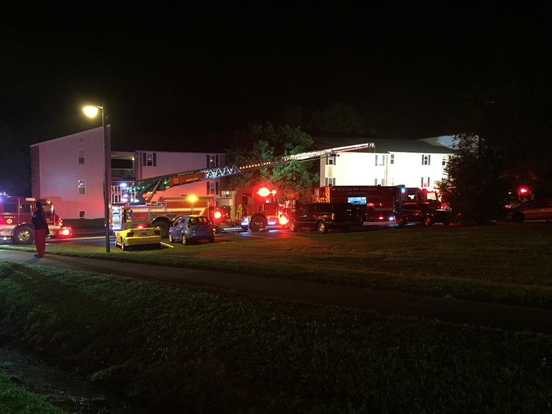 Fire Crews On Scene At Valley Creek Apartments (5/15/2017 FOX Carolina