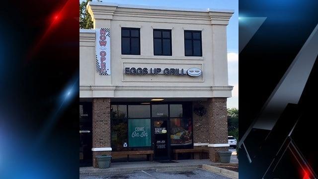 Eggs Up Grill on Woodruff Road in Greenville. (5/18/17/ FOX Carolina)